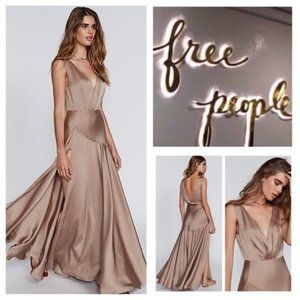 Fame and Partners Free People pink ESSIE gown 0